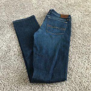 Lucky Brand Dark Wash Charlie Straight Leg Jeans
